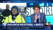 Alpes-Maritimes: une avalanche meurtrière fait quatre morts