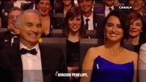 Manu Payet prouve que la LV2 c'est très utile avec Pénélope Cruz ! - César 2018