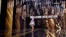 """Albert Dupontel remporte le César de la meilleure réalisation pour """"Au revoir là-haut !"""" - César 2018"""