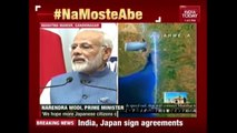 PM Modi - Shinzo Abe Joint Statement After Indo- Japan Talks