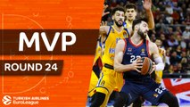 Turkish Airlines EuroLeague Regular Season Round 24 MVP: Tornike Shengelia, Baskonia Vitoria Gasteiz