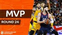 Turkish Airlines EuroLeague Regular Season Round 24 MVP: Tornike Shengelia, Baskonia Vitoria Gasteiz