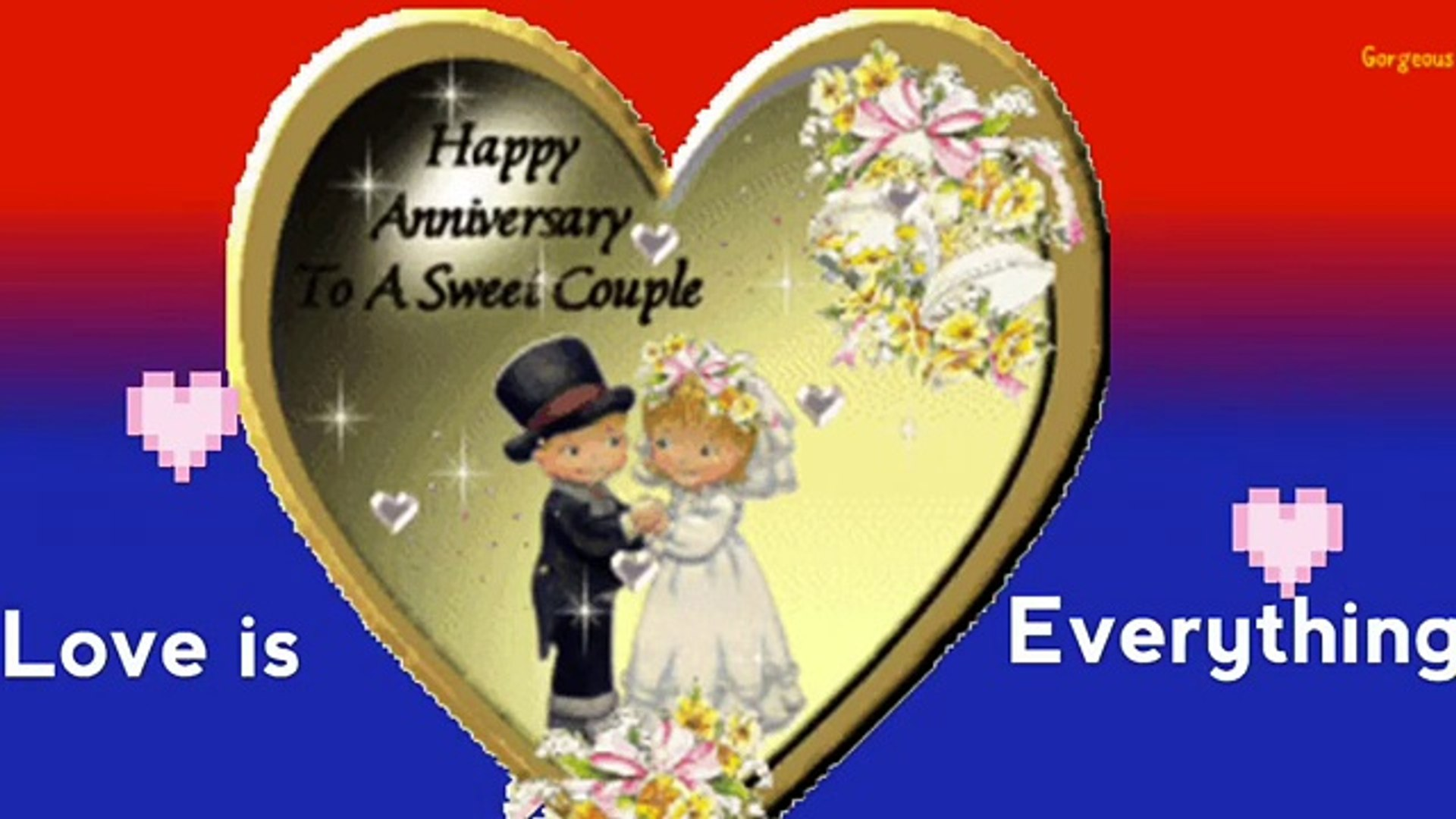 Happy Wedding Anniversary Wishes ,Sms ,Greetings , Images ,Wallpaper ,  WhatsApp Video
