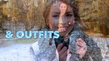 Elsa Braid & Makeup Tutorial with Modern Ice Queen Outfit Ideas (feat. Lulu*s!) - Jackie Wyers