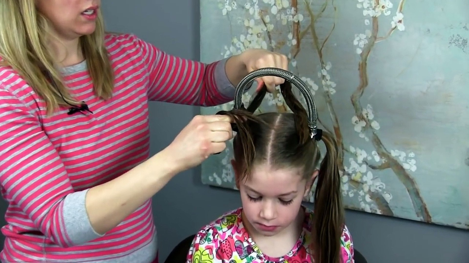 Rainbow Hairstyle For Easter Crazy Hair Day More