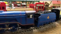 GORDON THE BIG ENGINE OO GAUGE HORNBY vs HO SCALE BACHMANN - Thomas and Friends Trains