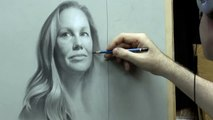 Betsy Part 5 of 5 – Portrait Drawing by David Jamieson