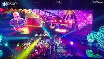 Elton John sahnede seyirciye küfretti
