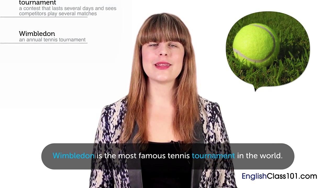 British English Holidays – Wimbledon