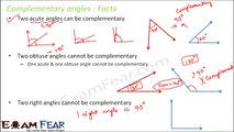 Maths Lines and Angles part 4 (Facts on Angles) CBSE Class 7  Mathematics VII
