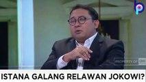 FADLI ZON KEOK!!! DEBAT FADLI ZON vs RELAWAN JOKOWI...  ISTANA GALANG RELAWAN JOKOWI!?