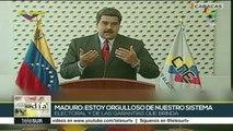 Nicolás Maduro: estoy orgulloso del sistema electoral de Venezuela