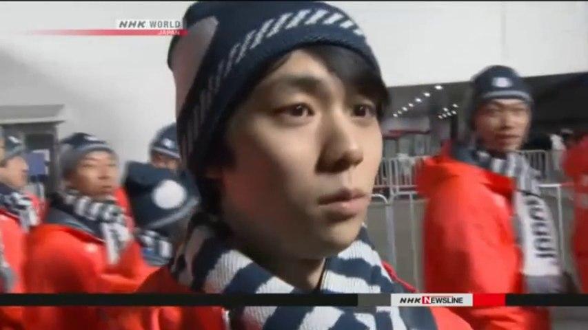 NHK Newsline 2018.02.26 - Japan posts record medal haul in Olympics (NHK WORLD TV)