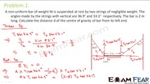 Physics Rotational Motion part 18 (Numerical Center of gravity) CBSE class 11
