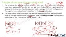 Chemistry Chemical Bonding part 5 (Electrovalent & covalent bond) CBSE class 11 XI