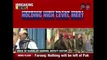 Amid Pak's Terror Attacks, Home Min Rajnath Singh Chairs High-Level Meet