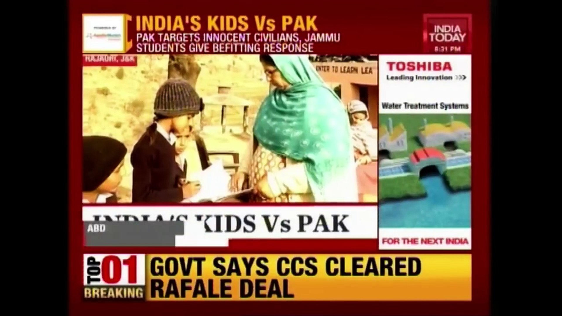 India's Border Kids Refuse To Let Pak Firing Affect Education