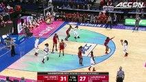 NC State vs. Louisville Women's Basketball Tournament Highlights (2018)