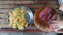 Amazing Cooking At Home How To Cook Fried Beef With Tomatoes And Canned Fish Cambodian Foo