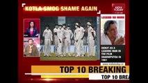 Sri Lankan Players Put On Mask To Combat Smog During Delhi Test