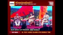 Mamata Banerjee Is Ahead Of Hitler, Says BJP Leader Dilip Ghosh | India Today Conclave East