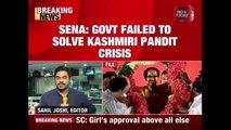 Modi Govt Failed To Resolve Issue Of Ram Temple & Kashmiri Pandits : Shiv Sena