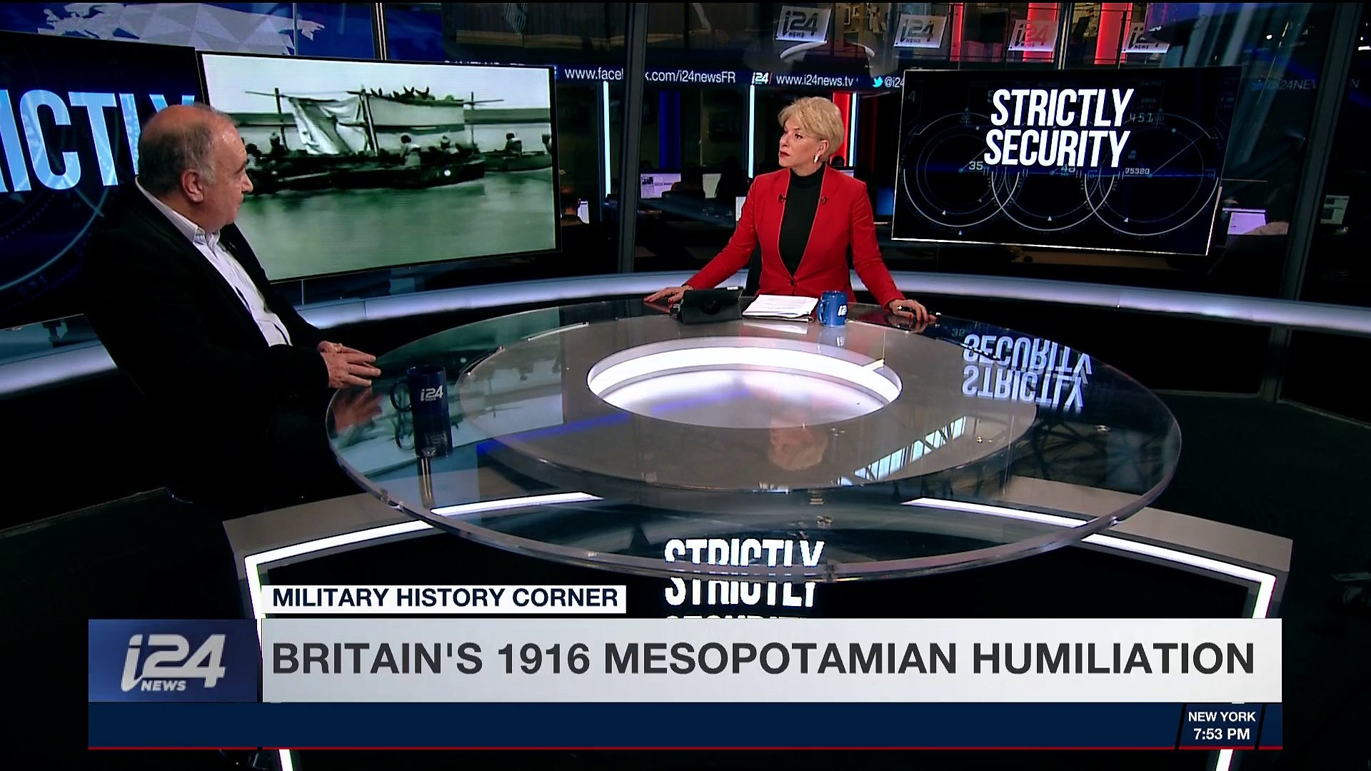 STRICTLY SECURITY | Britain's 1916 Mesopotamian humiliation | Saturday, March 3rd 2018