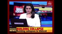 Mumbai Rains : 1 Person Killed In A Building Collapse