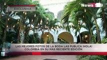 Video exclusivo de la boda de Paula Andrea Betancur y Luis Miguel Zabaleta