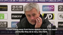 Manchester United lucky to win in last minute against Crystal Palace_ Jose Mourinho
