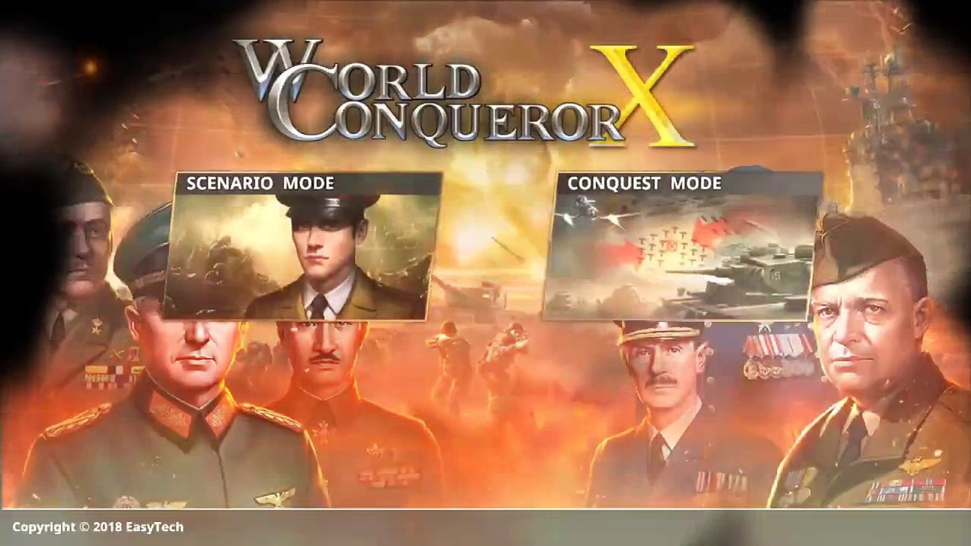 World Conqueror X - teaser [Nintendo Switch]