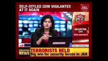 Gau Rakshaks Attack Trucks Carrying Cows In Barmer, Rajasthan