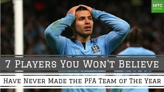 7 Players Who've Incredibly Never Made the PFA Team of the Year