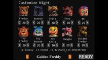 Misión #10 Golden Freddy 10/20 - Noche 7 - Five Nights At Freddys 2 - Español - Gameplay - Full HD
