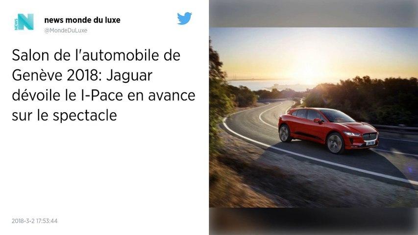 I-Pace, le premier SUV 100% électrique de Jaguar.