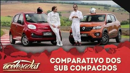 Comparativo dos sub compactos