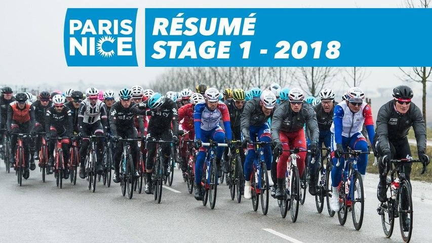 Résumé - Étape 1 (Chatou / Meudon)  - Paris-Nice 2018