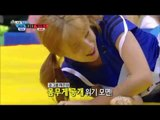 【TVPP】 Ha young(Apink), Yu Na(AOA) - Korean wrestling Semifinal,  씨름 준결승 @ Idol Star Championships