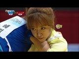【TVPP】 Nam Joo(Apink), Hye Jeong(AOA) - Korean wrestling Semifinal, 씨름 준결승 @ Idol Star Championships
