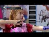 【TVPP】 Solji(EXID) - W Archery Semifinal, 솔지(EXID) - 여자 양궁 준결승 @ 2015 Idol Star Championships