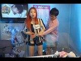 【TVPP】 Solji (EXID) – Sexy vocal training, 솔지(이엑스아이디)- 스킨십 가득한 보컬 트레이닝@ My Little Television