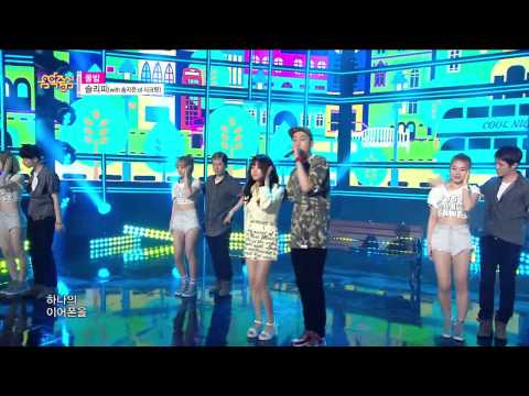 【TVPP】Jieun(Secret) – SLEEPY – Cool Night, 슬리피(with. 송지은): 쿨밤 @ Show! Music Core Live