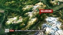 Alpes : deux morts et un disparu dans les avalanches