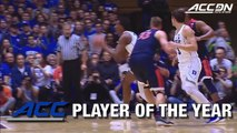 Marvin Bagley Sweeps ACC Player & Rookie of the Year