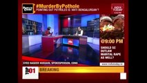 People's Court: Massive Protests Erupt As Killer Potholes Take 4 Lives Within A Week In Bengaluru