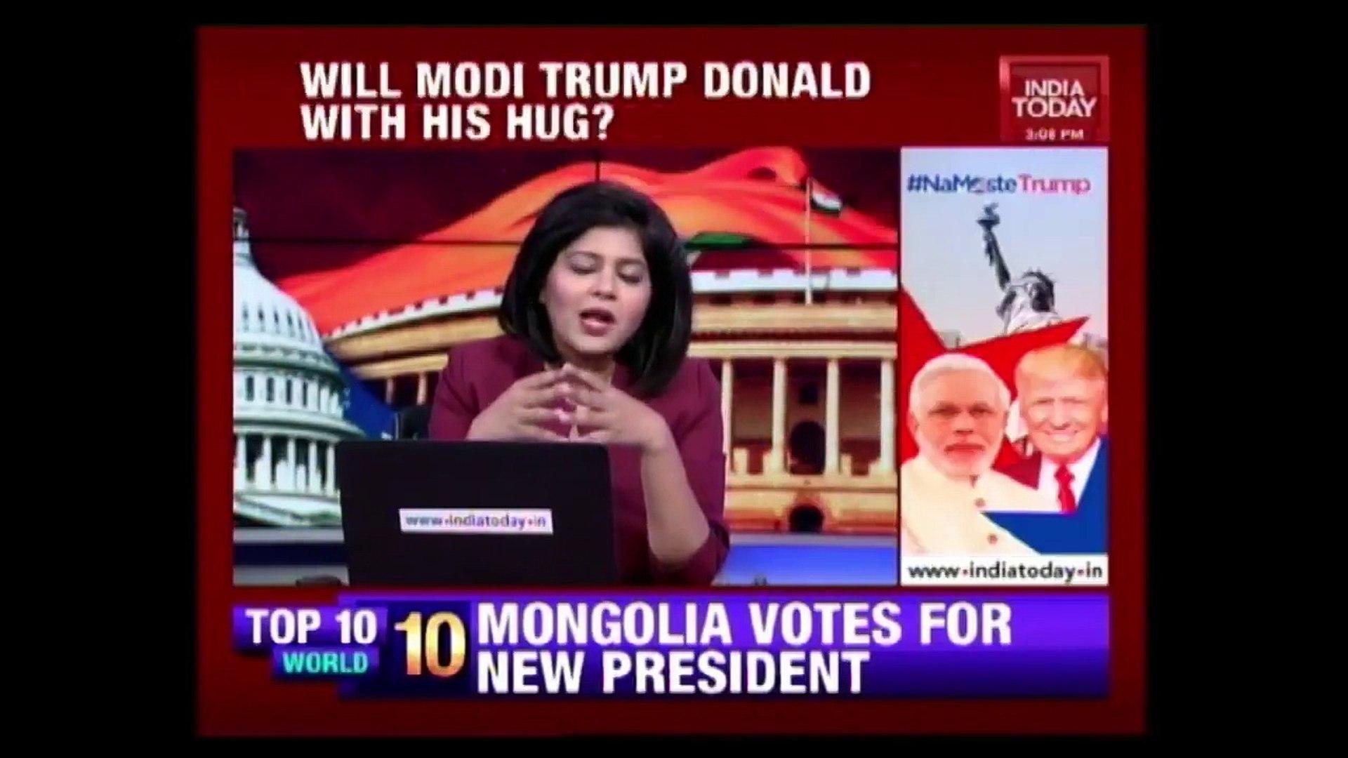 'Namoste Trump': First Modi-Trump Meet