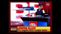 London Fire: Fears Of People Trapped As Major Blaze Engulfs Tower Block
