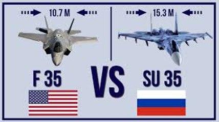 Su-35 vs F-35 Who Wins in a Shootout