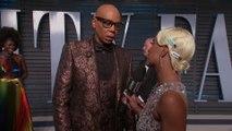 RuPaul Gives Oscar-Worthy False Eyelash Tips