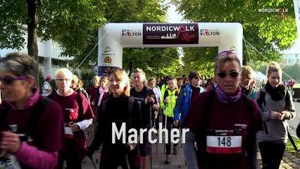 Teaser Nordic Walk in Lyon 2018